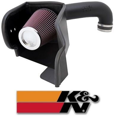 K&N 63 Series AirCharger Air Intake System for 09-18 Dodge Ram 1500 2500 5.7L V8