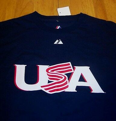 USA WORLD BASEBALL CLASSIC #40 FUENTES T-Shirt LARGE NEW w/ TAG