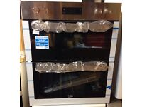 ***NEW Beko integrated built under double oven for SALE with 1 year warranty***