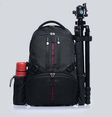 Deluxe Travel Dslr Camera Backpack Bag Case