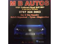 MB Autos car and van Repair (mechanic diagnostics)