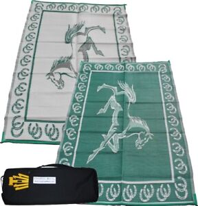 Deluxe Multi-Purpose Mat. 10 of the 9' x 12' Green/white only
