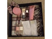 Jack Wills scarf/shawl and body treats gift box - brand new with Tag