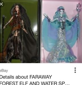 Ever after high and Barbie dolls