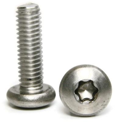 Stainless Steel Torx Pan Head Machine Screws 516-18 X 34 Qty 25