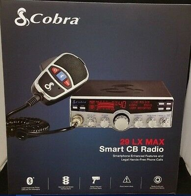 Cobra 29LX MAX Smart CB Radio with Bluetooth and new Smartphone Features Low $$