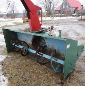 SNOWBLOWER 8FT WIDE EXTRA HEAVY-GREAT CONDITION