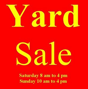 Yard Sale 66 Carrying Place Rd., Trenton