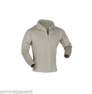 Sand Brown Shirt Cold Weather Polypropylene Thermal Underwear Top ECWCS Small  Cold Weather Polypropylene Underwear Top