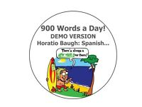 (900) nine hundred words a day - speed learn Spanish! Etc!