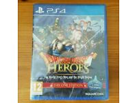 New & Sealed Dragon Quest Heroes for Ps4