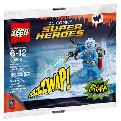 NEW LEGO MR. FREEZE POLYBAG Classic Batman TV Series  Minifig set 30603 sealed