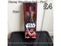 Disney Star Wars Finn Doll - New in Box