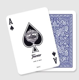 Fournier 505 Blue playing cards