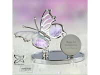 Personalised butterfly crystocraft