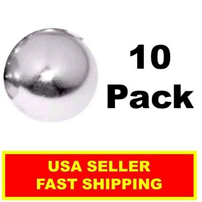 Neodymium Sphere Magnet 12 Inch N52super Strong Ball Rare Earth 10 Pack