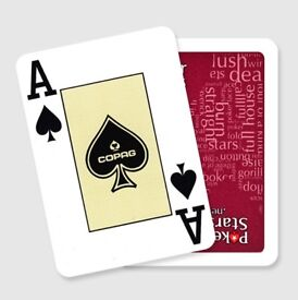 Copag Pokerstars Red playing cards
