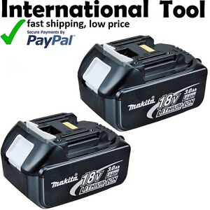 Makita 18v 4ah lithium ion cordless battery batteries set - Batterie makita 18v 4ah ...