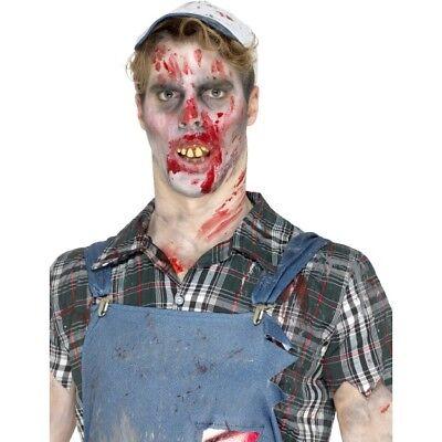 Hillbilly Zähne Herren Damen Kostüm Zubehör Gebiss - Hillbilly Kostüm Halloween
