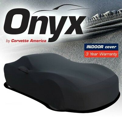 C3 Corvette Onyx Black Satin Car Indoor Cover Stretch Fits All 68-82 Corvettes for sale  Indianapolis