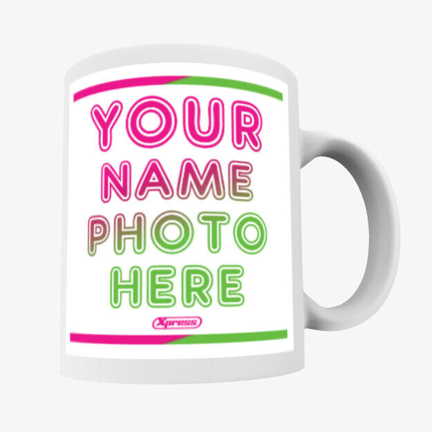 Personalised Custom Photo Mug Cup Gift Image Text Christmas Birthday Promotional 2