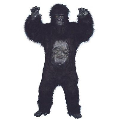 King Kong Affen Deluxe Kostüm,Gorilla Anzug,Gorillakostüm,Affe,Tier,Planet (Gorilla Kostüm Anzug)