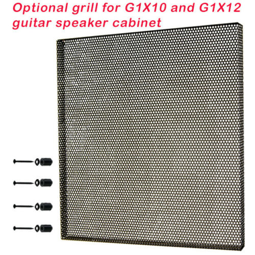 Speaker Grill for G1X12 or G1X10 guitar speaker cabinet fine metal mesh black