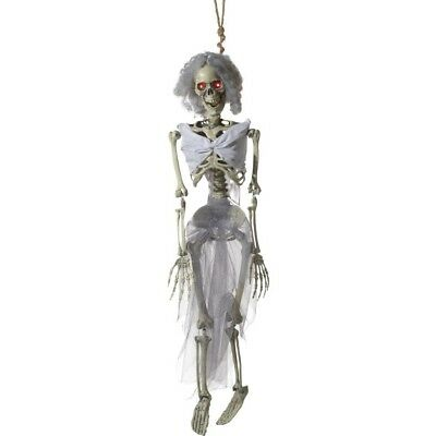 Animiert Wandbehang Braut Skelett Dekoration Halloween Kostüm Party - Animierte Halloween Skelett