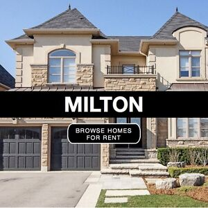 Condo/Town/Semi/Detached Houses For Rent in Milton: FREE Service