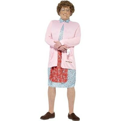 Men's Licensed Mrs Brown Boys Fancy Dress Costume Irish BBC1 TV Comedy Stag Fun