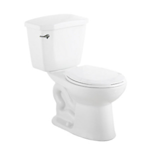 GLACIER BAY Premier 2-piece 6.0 LPF Single Flush Round Bowl Toil