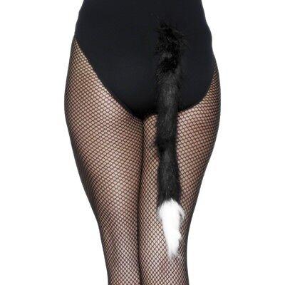 Smi - Halloween Kostüm Zubehör Katzenschwanz als Katze verkleiden (Katze Schwanz Halloween)