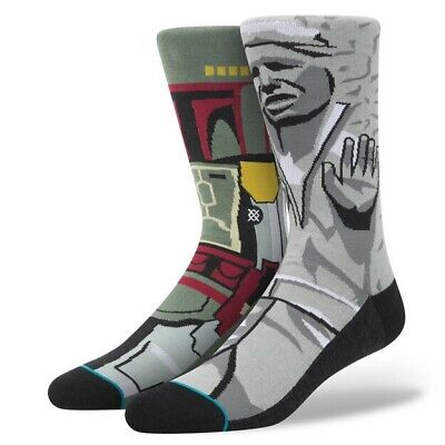Stance Star Wars Frozen Bounty Mix-Match Socks Mens Sz L NWT Han Solo Boba Fett