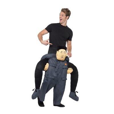 Erwachsene darauf Reiten Kim Jong Un Diktator Kostüm Halter Me Up - Diktator Kostüm