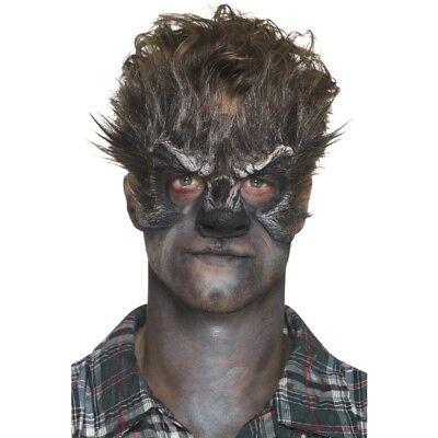 Schaum Latex Werwolf Kopf Prothetisch Augenmaske Halloween Special Fx Make-Up