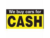 WE BUY ANY CAR, VAN OR MOTORBIKE FOR CASH!!! RUNNING, SCRAP OR DAMAGED – 07595976330