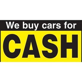 WE BUY ANY CAR, MOTORBIKE OR VAN FOR CASH!!! Even if it is not running, damaged, faulty! 07595976330