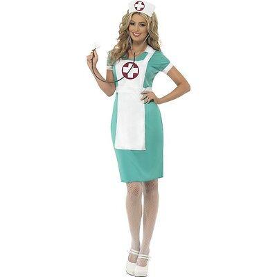 Women's Scrub Nurse Paramedic Fancy Dress Costume Hospital Outfit Hen Night Fun](Paramedic Costume)