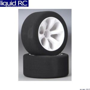 Jaco Tires 2030 Jaco 1/10 Hex Mounted Front Wheels with Purple Compound Foam Tir