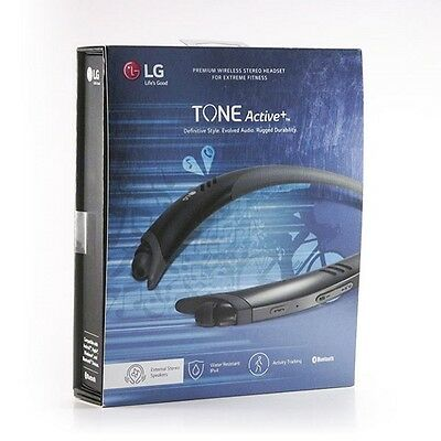 Lg Tone Active Plus Hbs A100 Bluetooth Wireless Stereo Headset   Black