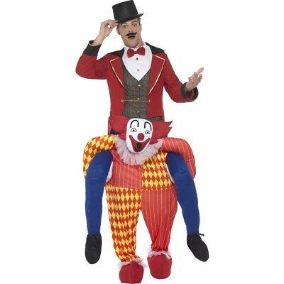 Men's Women's Piggyback Clown Circus Fancy Dress Costume Stag Hen Night Fun