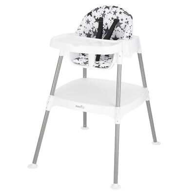 Evenflo 4-in-1 Eat & Grow Convertible High Chair, Pop Star