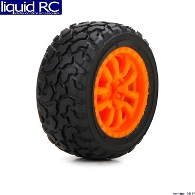 Losi 41005 Desert Spec Tires Mounted FF/RR (2): Mini - Mini Tires