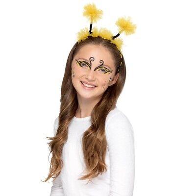 Kids Bug Make Up Kit Aqua Face Paints Childrens Fancy Dress Make Up Bug Kit