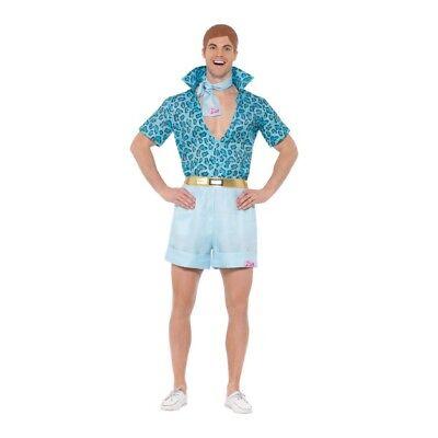 Men's Licensed 70's 80's Barbie Safari Ken Fancy Dress Costume TV Doll Stag Fun  - Barbie 80s Costume