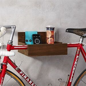 Wooden Bike Shelves