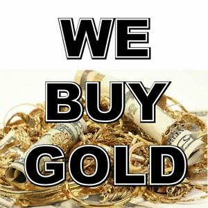 CASH FOR GOLD! Buying scrap gold, silver, broken jewelry!