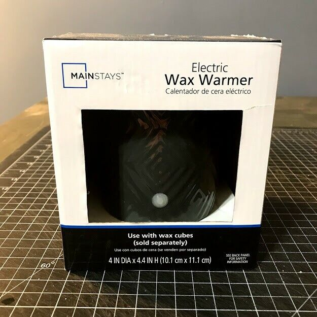 Mainstays Electric Wax Warmer, Dark Grey, Single