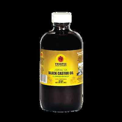 Tropic Isle Living Jamaican Black Castor Oil 8 oz