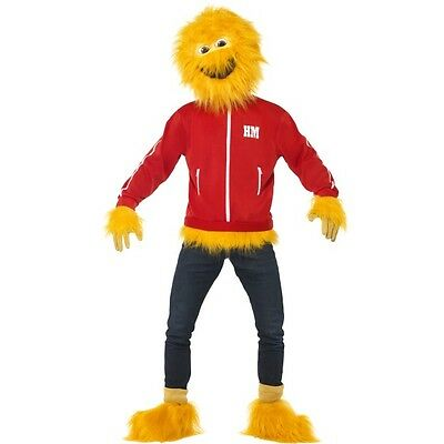 Men's 1980's License Honey Monster Fancy Dress Costume TV Advert Stag Theme Fun ](1980s Themed Halloween Costumes)